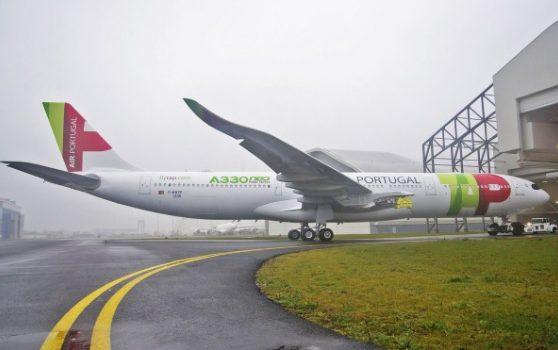 TAP estreia novo A330-900neo em voos para o Brasil