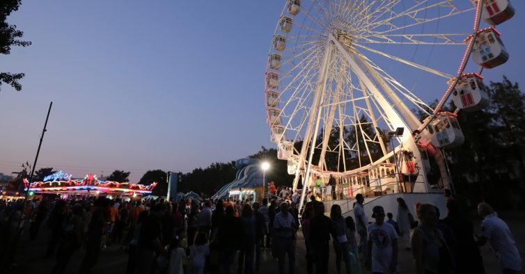 Feira de Sant'Iago: 16 dias de festa gratuita (com concertos e uma Roda Gigante)
