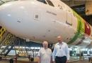 O novo avião A321neo da frota da TAP foi baptizado com o nome Júlio Pomar, em homenagem ao pintor e escultor português.
