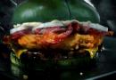 Há um hambúrguer verde no Burger King para celebrar o Halloween