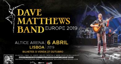 Dave Matthews Band de volta a Portugal!