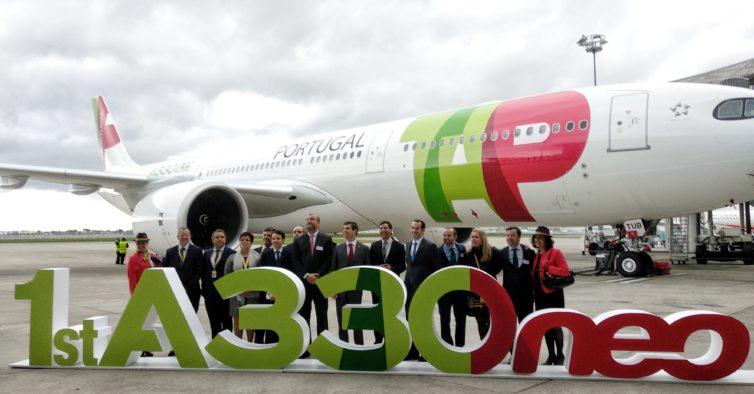 TAP é a primeira companhia do mundo a receber o novo Airbus