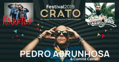 Capitão Fausto, The Gift e ProfJam no Festival do Crato