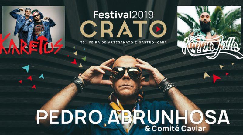 Capitão Fausto, The Gift e ProfJam no Festival do Crato