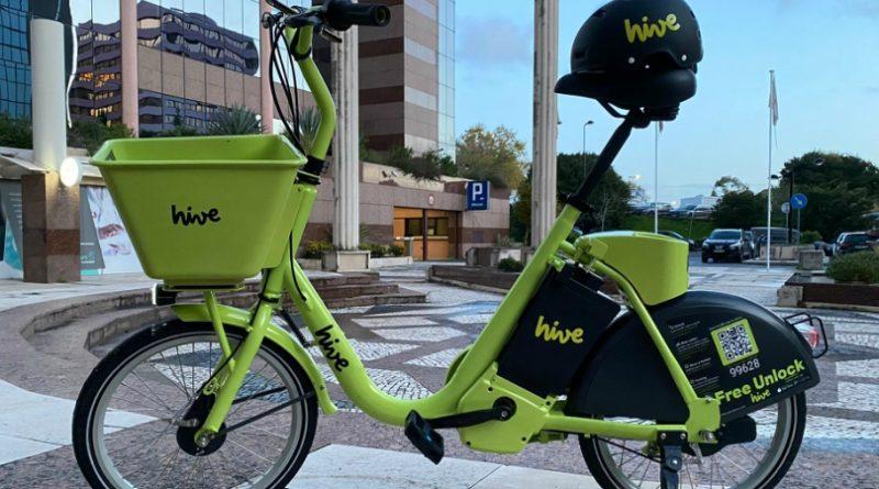 Há um novo serviço de bicicletas eléctricas em Lisboa