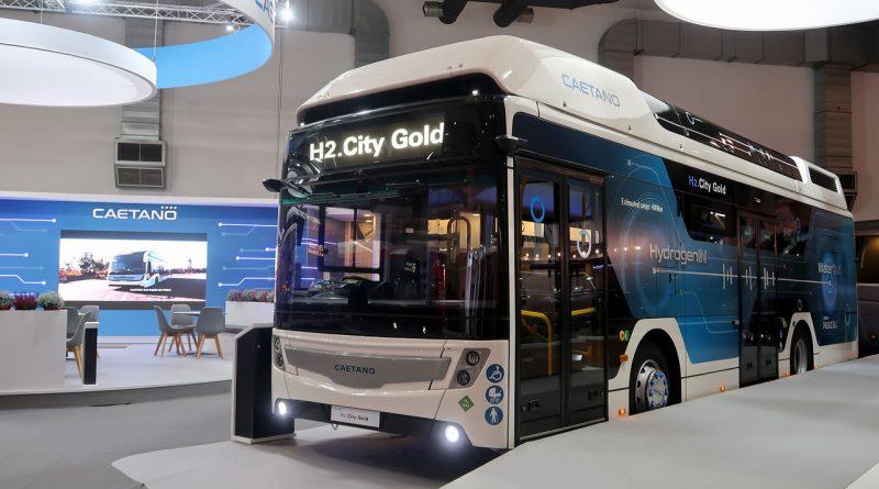 Autocarro a hidrogénio fabricado em Portugal chega à Europa em 2020