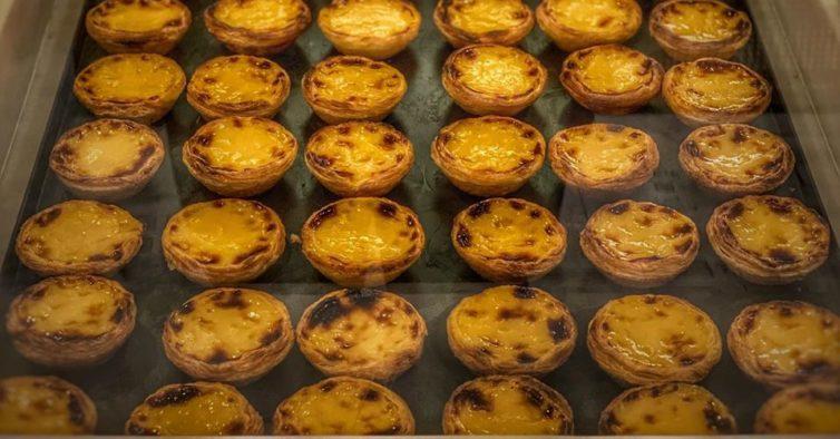 A Baixa de Lisboa tem mais uma loja de pastéis de nata acabados de fazer