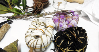 Lançamento mini coleção lenços terapeuticos by Panopono