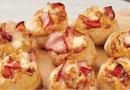 As novas mini pizzas enroladas da Telepizza fazem concorrência ao pão de alho