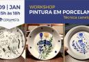 Em janeiro, Ceramista Shop realizará Workshops de Pintura em Porcelana