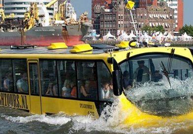 Lançado o concurso público para autocarro anfíbio