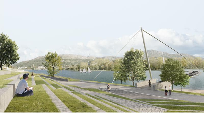 Vai ser construída uma ponte pedonal com 330 metros para ligar Portugal à Galiza